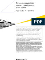Revenue recognition project - airlines appendix