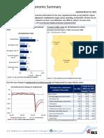 Burlington area economy summary