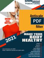 Antiscale washing machine filter catalog