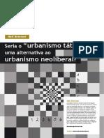 Aula4 Neil Brenner Seria o Urbanismo Tatico Um