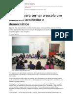 13 Acoes Para Tornar a Escola Um Ambiente Acolhedor e Democraticopdf