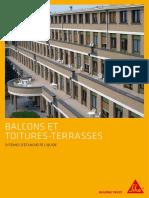 SIKA Toiture Terrasse Balcon