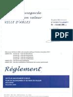 5 - Psmv Arles - Reglement