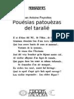 Jean Antoine PEYROTTES. Pouésias patouèzas del taralié