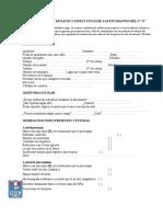 Ficha de Recojo de Datos y Expectativas de Los Estudiantes Del 2021