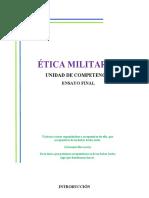 Etica Militar Ser un cadete