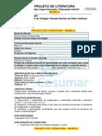 PROJETO DE LITERATURA - MODELO