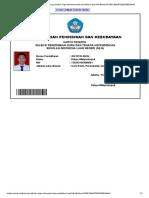 x Login Informasi Kartu Pendaftaran