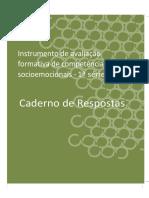 Caderno de RESPOSTAS_RUBRICAS_ EM_1a SERIE_PV