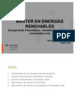 3 - Energía Solar Fotovoltaica 2020 2021 – Instalaciones aisladas y conectadas a red
