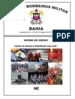 NORMA DE ENSINO BM AL  04 de 07 Ago 2018