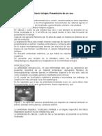Amiloidosis laríngea  CASO