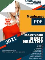 Membranes Catalog