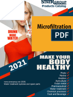 Residential Microfiltration Ultrafiltration Water catalog
