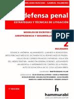 La Defensa Penal 2. Nulidades. 2019. Rusconi. Palmeiro