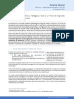 2020-08-25 Balance Gral - Covid19 y migrantes Venezolanos