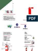 folleto extintor CURUMUY