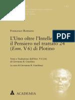 francesco romano Lo uno más allá de lo otro (2020)