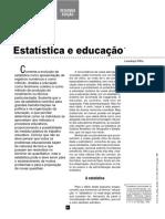 Educação e Estatística. Lourenço Filho