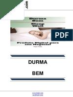 Durma Bem (Sleep Well)