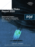 The Global Risks Report 2020 Economic Risks Chapter