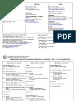 Cronograma da Visita de Monitoramento - Tuberculose - 2015 - MG