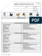 RGS 15.16 - Permissao de trabalho Especial - PTE CONSTRUÇÃO CIVIL