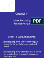 Chapter 11 - Manufacturing Fundamentals