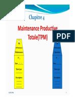 Maintenance Productive Totale TPM 2019