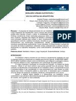 MOBILIÁRIO URBANO SUSTENTÁVEL - Projeto de Arq. e Urb.
