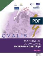 Manual Evaluare Externa a Calității