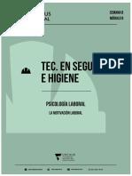 Semana 8_Psicología Laboral-2020