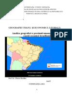 Analiza Geografica a Coastei Braziliene
