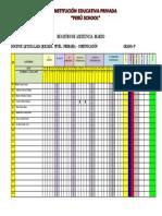 REGISTRO DE ASISTENCIA - PERU SCHOOL-4°