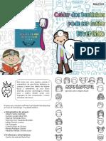 Práticas de Extensão interdisciplinar, Livreto odontologico