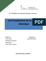 Les fondements de la finance islamique.docx - GoogleDocs
