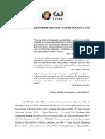 CAD Borari e Maparajuba - Pedido de Impeachment Bolsonaro