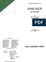 Bai Doc Kinh Sach - Thuong Nien 2 - Tuan XVIII-XXXIII - Tap 4