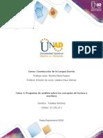 Tarea 1 - Análisis Sobre Los Conceptos de Lectura y Escritura- Rosalba Sanchez