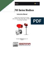 600 700 Modbus Instruction Manual