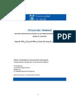 Estudio Crítico de Algunas Traducciones Islámicas de La Lengua Árabe Al Español.