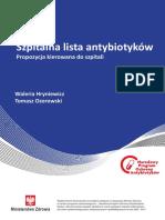Antybiotyki Szpitalna Lista Okl Cala