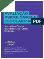 FACCI_Avaliação psicológica e escolarização