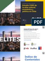 Estudio COES de la élite cultural, económica y política en Chile (24-04-2021)