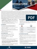 Convocatoria Policía de Asuntos Internos Edomex 2021