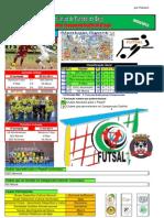 Resultados da 8ª Jornada do Campeonato Distrital da AF Beja em Futsal
