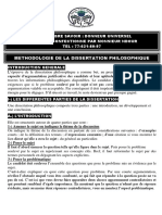 DISSERTATION-PHILOSOPHIE méthode
