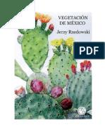 Vegetación de México de Jerzy Rzedowsky parte 1