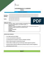 Guía 7,8,9  y evauaciòn 3 de Matemática 2° Básico
