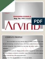 Arvind Mills Internship PPT